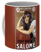 French Poster: Salome, 1918 Coffee Mug