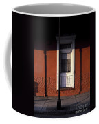 French Quarter Door And Shadows New Orleans Coffee Mug