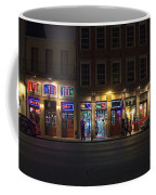 French Quarter Shopping At Night Coffee Mug