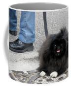 Frenchman And His Dog Coffee Mug