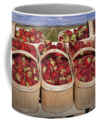 Fresh Picked Strawberries Coffee Mug