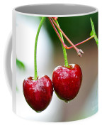 Fresh Wet Cherries Coffee Mug