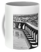 Frey Pool Bw Palm Springs Coffee Mug