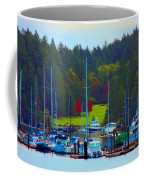 Friday Harbor Docks Coffee Mug