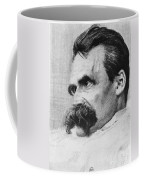 Friedrich Wilhelm Nietzsche, German Coffee Mug by Photo Researchers