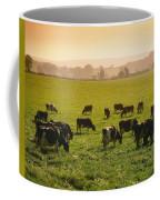 Friesian Cattle Cattle Grazing Coffee Mug