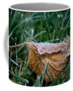 Fringed In Frost Coffee Mug