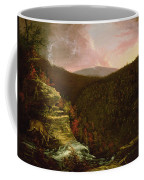 From The Top Of Kaaterskill Falls Coffee Mug by Thomas Cole