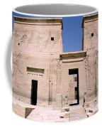 Front Of Philae Wall Coffee Mug