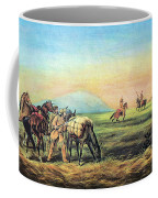 Frontiersmen And Native American Coffee Mug