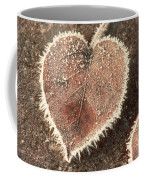 Frosted Fall Leaves Coffee Mug