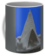 Frosted Tee Pee Coffee Mug