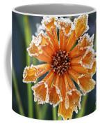 Frosty Flower Coffee Mug