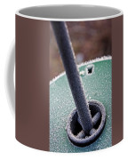 Frosty Metal Coffee Mug