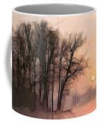 Frosty Morning At The Lake Coffee Mug