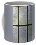 Frosty Window Pane Coffee Mug