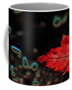 Frozen Red Leaf Coffee Mug