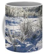 Frozen Winter Landscape Coffee Mug