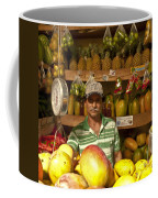 Fruit Market Stand Coffee Mug by Heiko Koehrer-Wagner