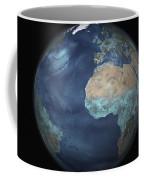 Full Earth Showing Evaporation Coffee Mug