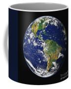 Full Earth Showing The Western Coffee Mug
