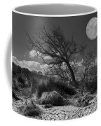 Full Moon Over Jekyll Coffee Mug by Debra and Dave Vanderlaan