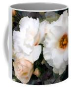 Full White Roses Coffee Mug