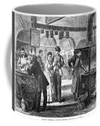 Fulton Fish Market, 1870 Coffee Mug