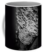 Fungi Black And White Coffee Mug
