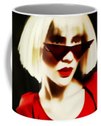 Funky Red Glasses Coffee Mug