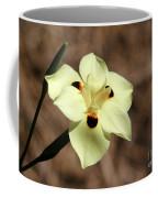 Funny Face Flower Coffee Mug
