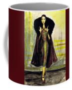 Fur Collar Coffee Mug