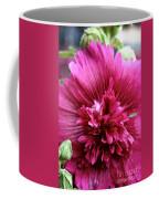 Fuschia Hollyhock Coffee Mug