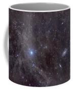 Galaxies M81 And M82 As Seen Coffee Mug by John Davis