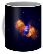 Galaxy Collision Coffee Mug