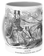 Gallant Admirers, 1869 Coffee Mug