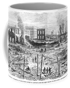 Galveston: Fire, 1877 Coffee Mug