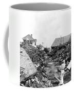 Galveston Flood Debris - September - 1900 Coffee Mug by International  Images