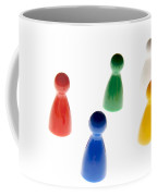 Game Pieces In Various Colours Coffee Mug