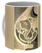 Ganesha In Sepia Hues Coffee Mug
