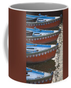 Ganges River, Varanasi, India Moored Coffee Mug