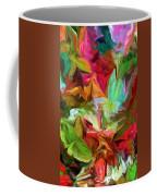 Garden Abstract 072312 Coffee Mug