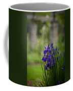Garden Blue Irises Coffee Mug