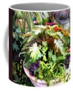 Garden Bowl Of Foliage Coffee Mug