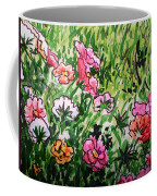 Garden Flowers Sketchbook Project Down My Street Coffee Mug