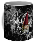 Garden Gnome With Gray Background Coffee Mug
