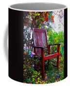Garden Seating Coffee Mug