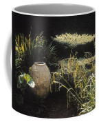 Garden Urns In A Garden Coffee Mug