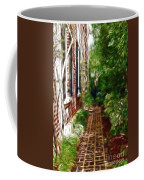 Garden Walkway Coffee Mug