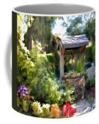 Garden Wishing Well Coffee Mug
